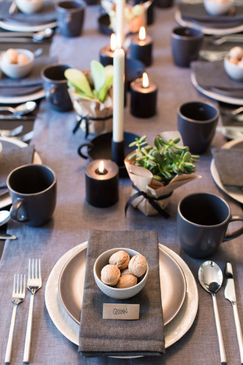 Amazing Thanksgiving Table Place Setting Ideas Part - 13: Thanksgiving Place Setting