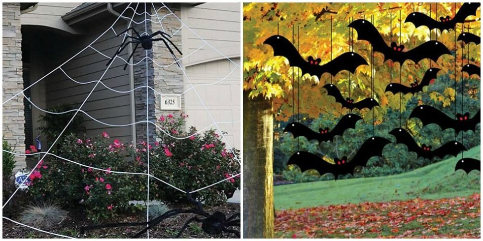 outdoor halloween decorations - Halloween Yard Decorating Ideas
