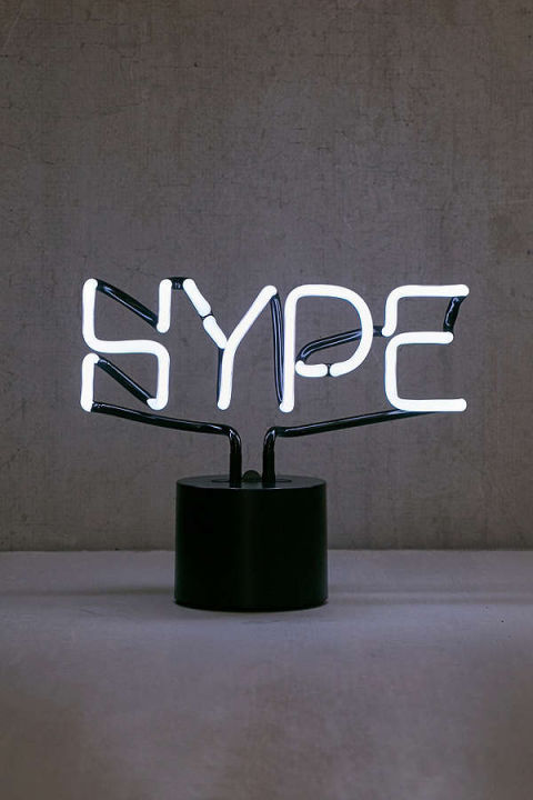 $79BUY NOW …it means excited, and the vibe of his room will be justthat with this neon lamp glowing.
