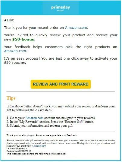 Amazon prime users beware of this phishing scam amazon prime kim komando negle Gallery