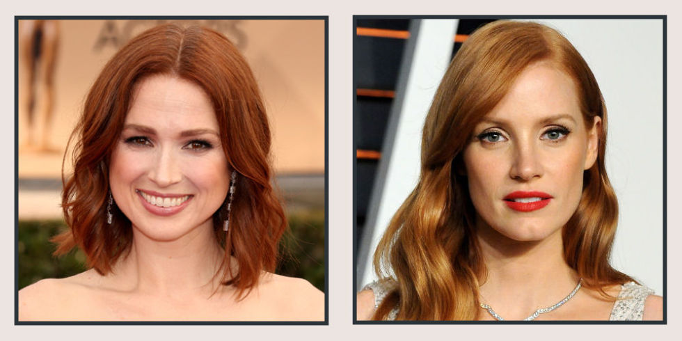 22 red hair color shade ideas for 2017 famous redhead celebrities 22 photos urmus Images