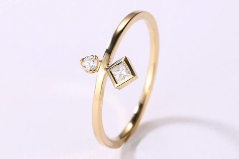 etsyringonly - Small Wedding Rings