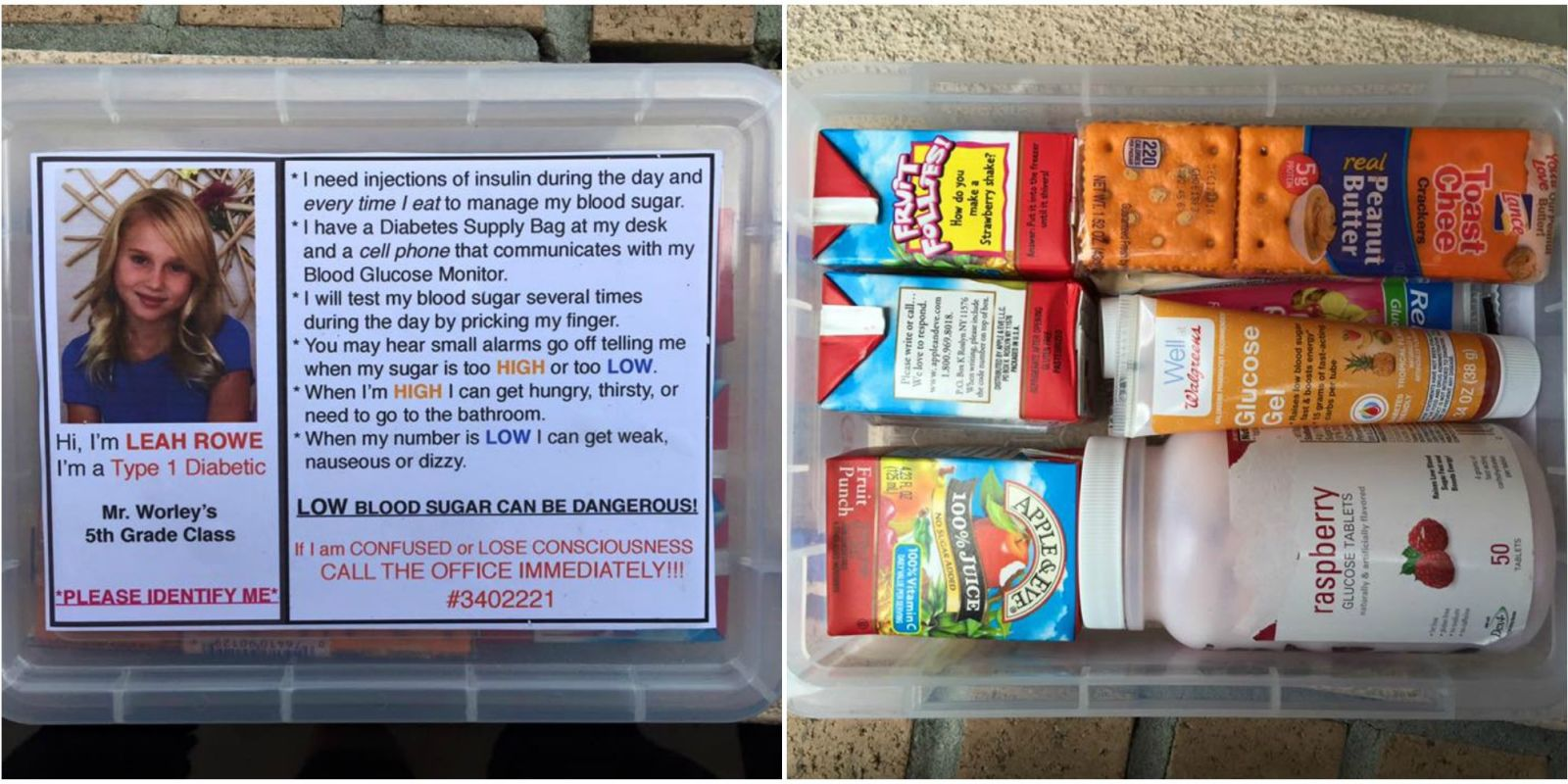 """This Mom Wants to Warn Everyone About the Importance of a """"Diabetes Box"""""""