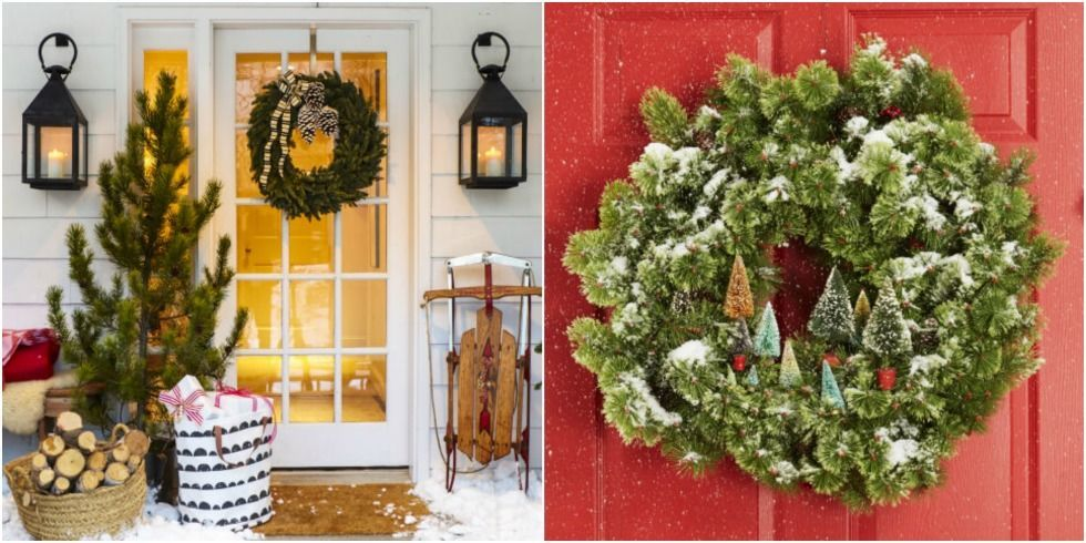 35 Photos & 35 Christmas Door Decorating Ideas - Best Decorations for Your ... Pezcame.Com