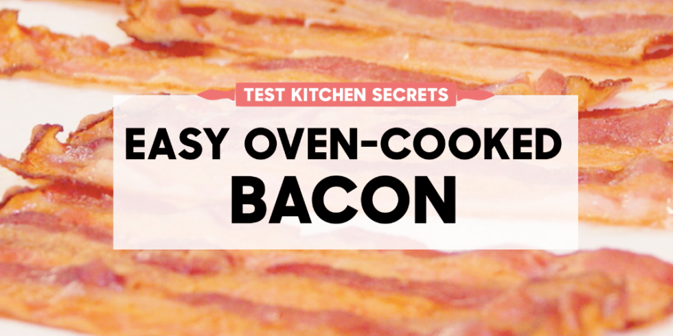 How to cook bacon in the oven best way to make oven baked bacon this technique offers less mess and evenly cooked meaty strips win win ccuart Images