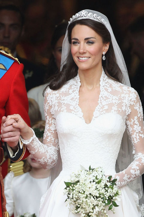 Stunning Princes Kate Wedding Dress Images - Wedding Dress Ideas ...