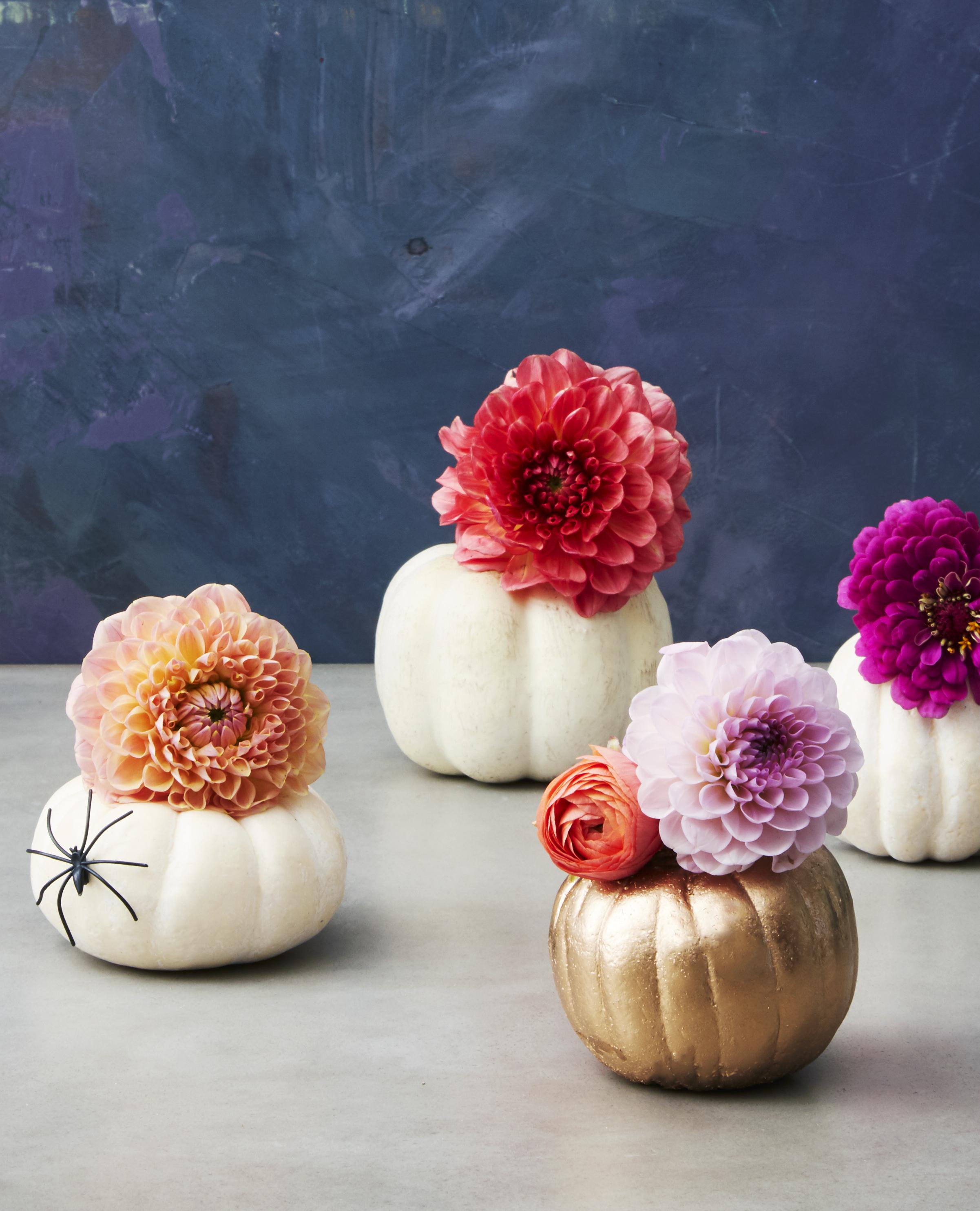 Flowers In A Pumpkin: 31 Easy Pumpkin Carving Ideas For Halloween 2017