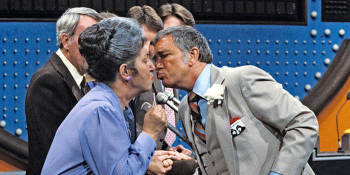 Richard Dawson Kissing On Family Feud Richard Dawson