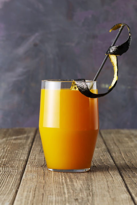 apricot bourbon brew halloween cocktail - Halloween Punch Names