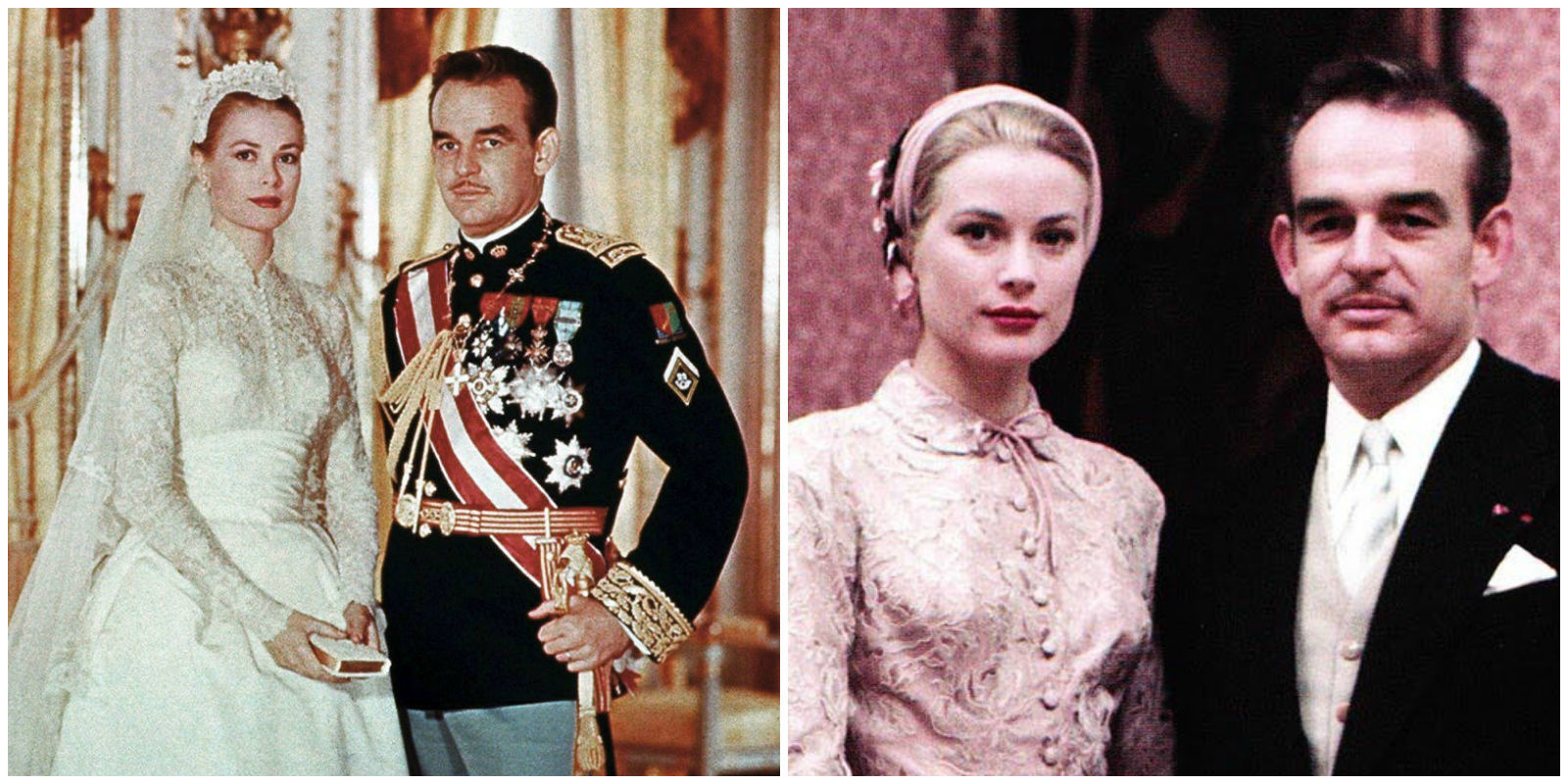 Grace Kelly Had A Second Pink Wedding Dress What