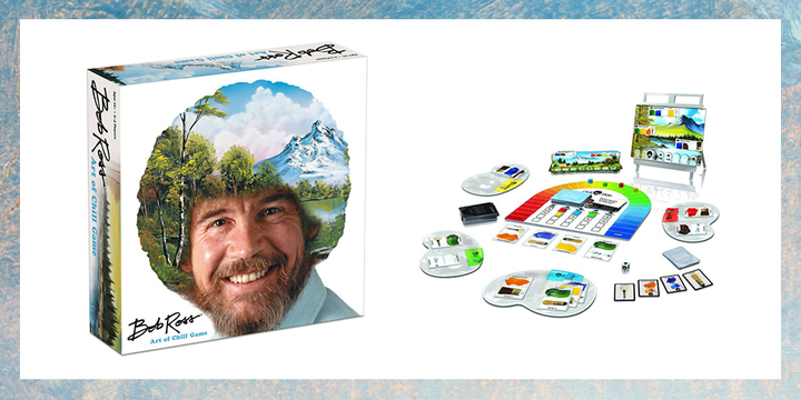 There Is Now a Bob Ross Board Game That You Absolutely Need