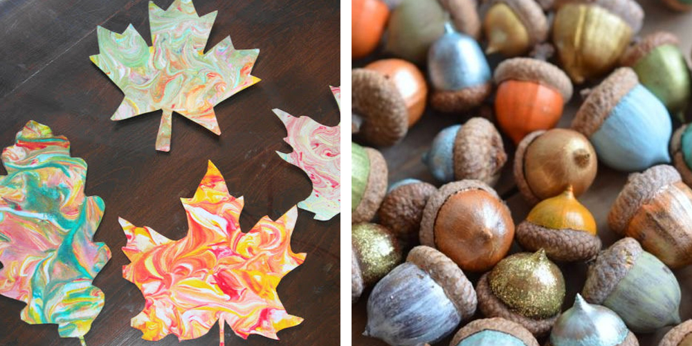 54 easy fall craft ideas for adults diy craft projects for Easy diy fall crafts