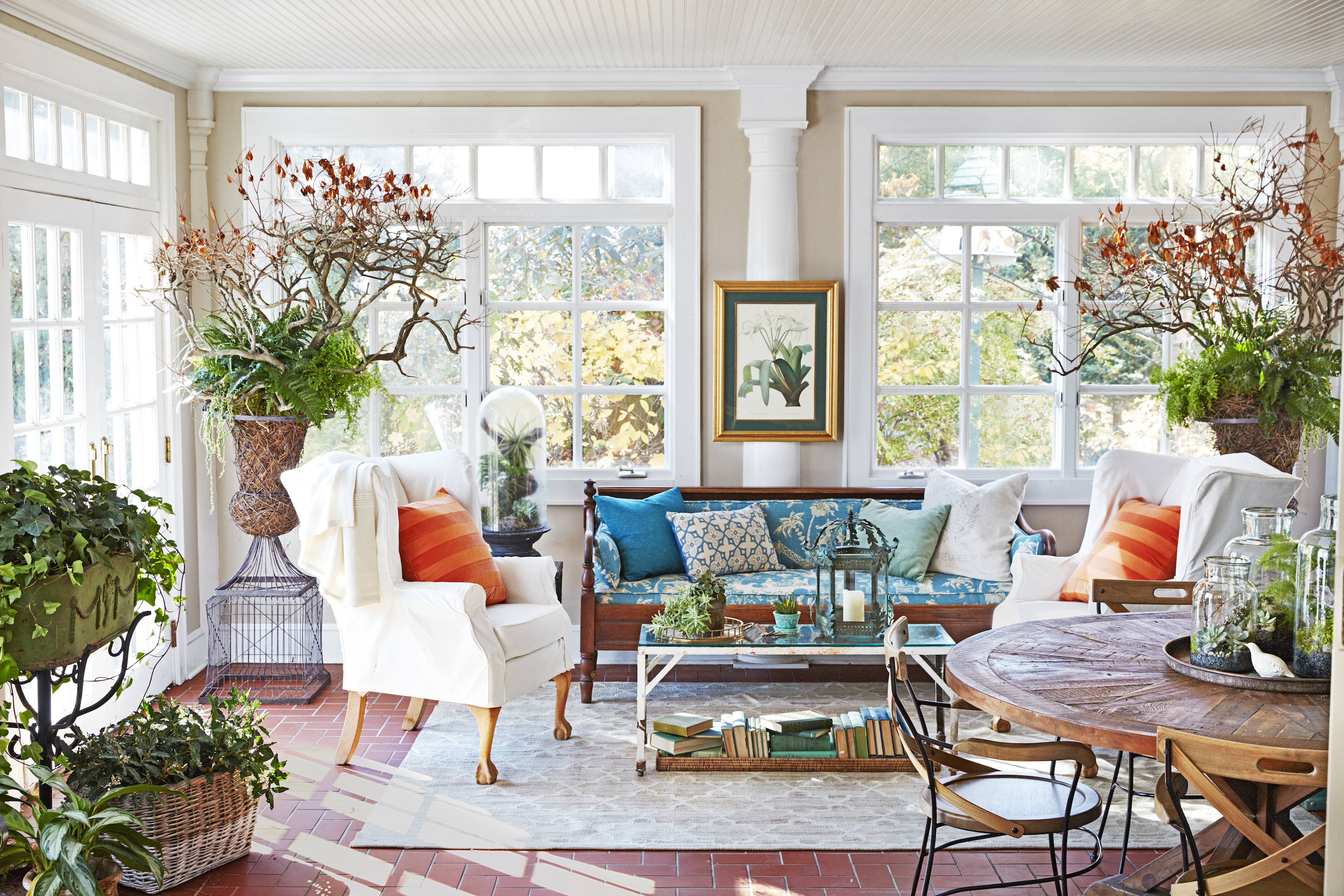 10 sunroom decorating ideas best designs for sun rooms for Sunroom garden room