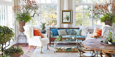 good home designs. deborah herbertson connecticut cottage sunroom Home Decor Ideas  Interior Decorating Pictures Good Housekeeping