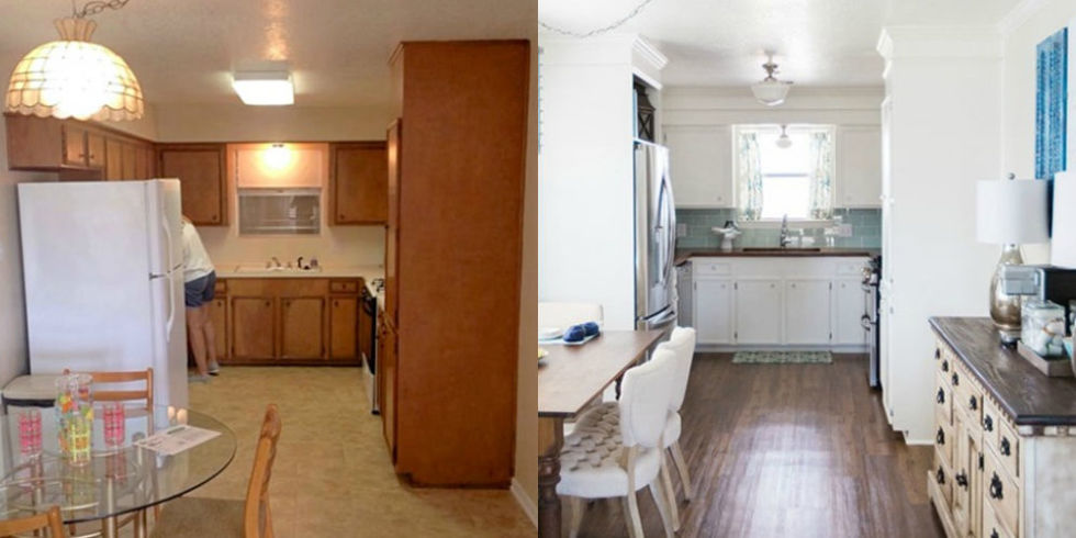 9 Clever Kitchen Makeovers - Kitchen Renovation Ideas