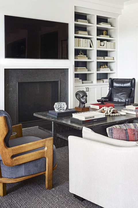 Color Outside The Lines Small Living Room Decorating Ideas: Molly Sims Home Tour