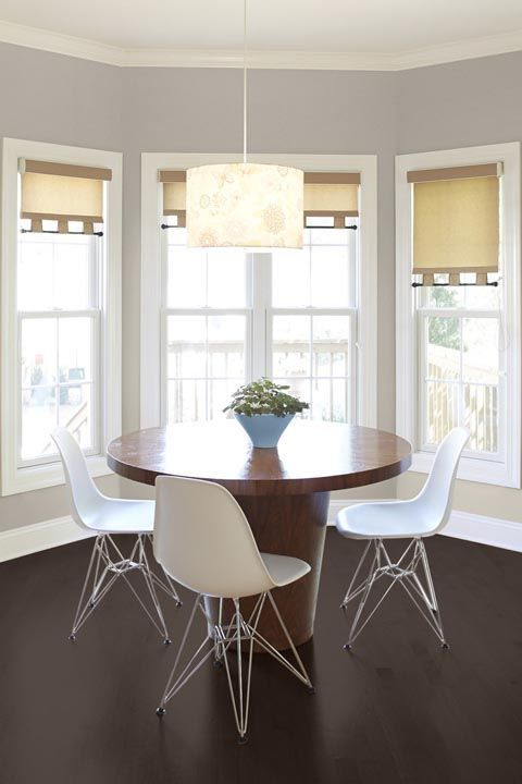 """Paint brandDutch Boy's2018 Color of the Year is a new take on """"greige"""" — a.k.a. gray and beige.""""Sandstone feels brighter and more modern than that neutral from our past and will pair incredibly well with some of theother trending colors of the moment, such as shades of teal, dark blue and millennial pink,"""" says designer Jeffrey Phillip."""