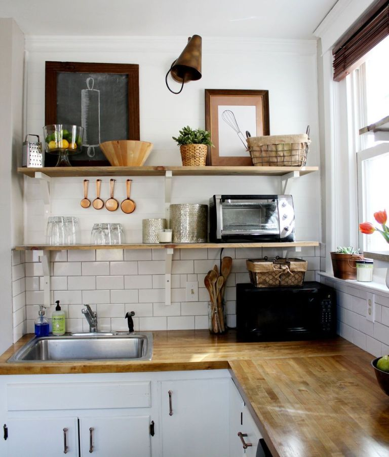 Kitchen With Shelves Instead Of Cabinets Cool Kitchen Open Shelving  Why Open Wall Shelving Works For Kitchens Decorating Inspiration