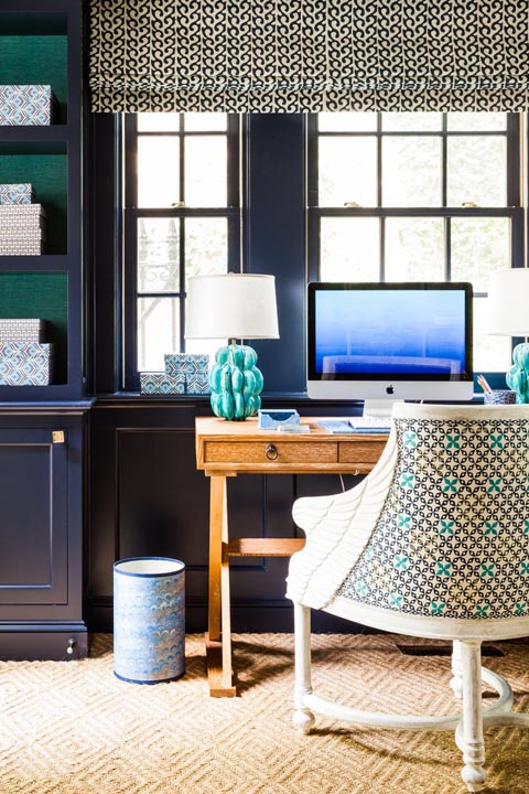 10 best home office decorating ideas decor and organization for home offices and studies - Home office decoration pict ...