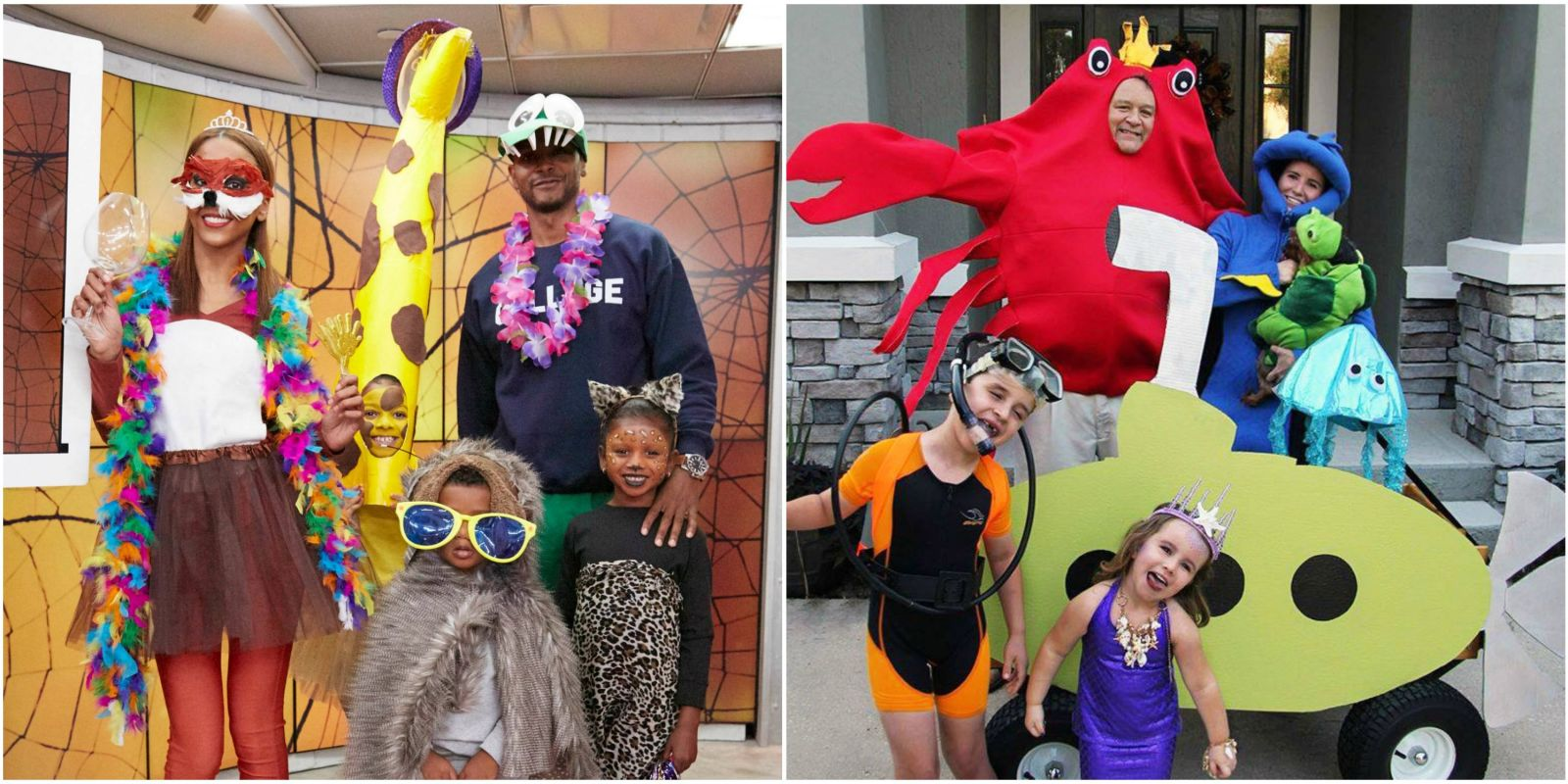 17 Group Halloween Costumes For Family Halloween Costume