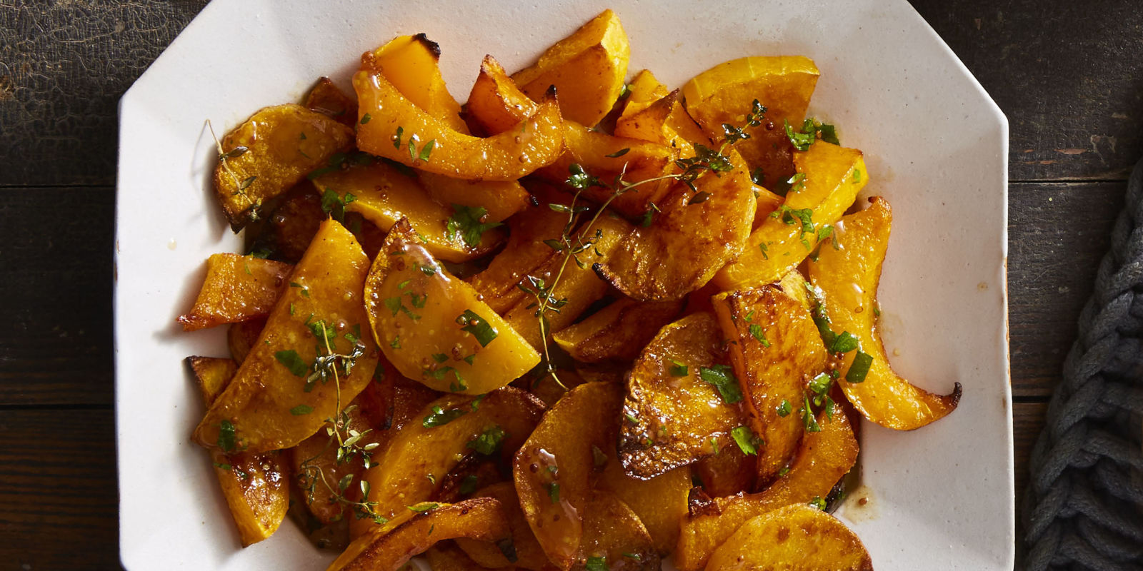 How To Make Spice-Roasted Butternut Squash with Cider Vinaigrette ...