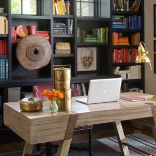 The Right Color Spells Productivity Previous  Home Offices Ideas That Will Motivate You
