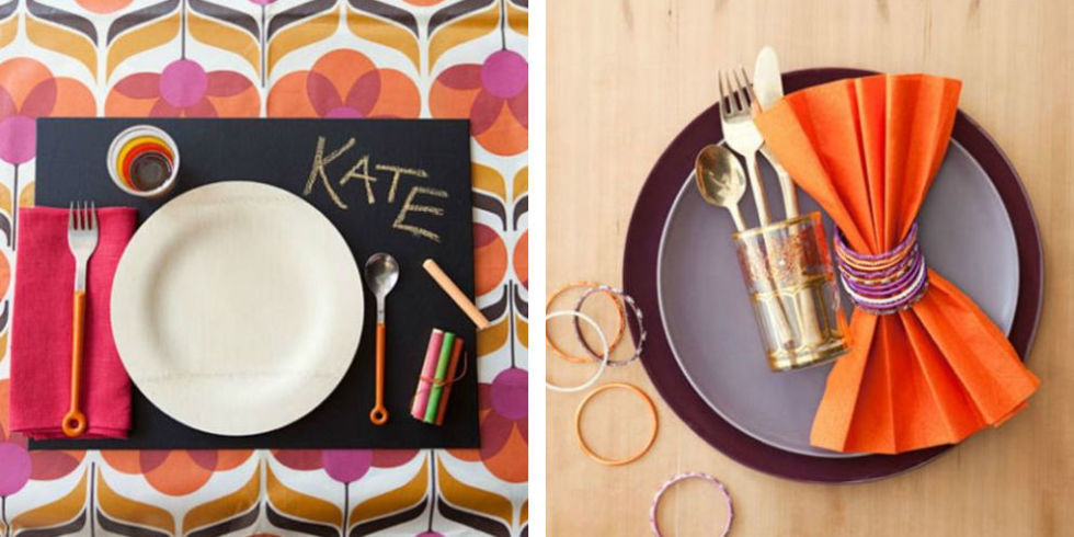 Thanksgiving Table Place Setting Ideas Part - 33: 11 Photos