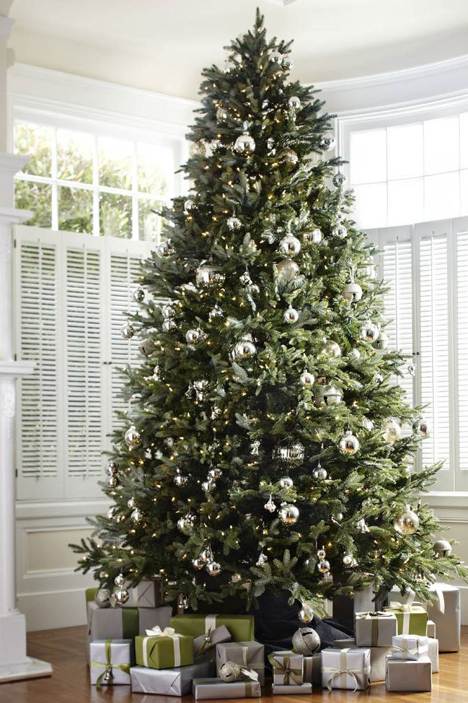 19 best artificial christmas trees 2017 best fake christmas trees - 75 White Christmas Tree