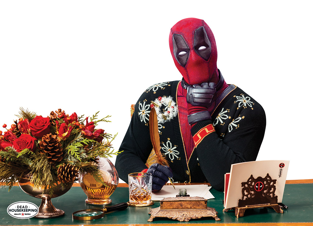 Deadpool Guest Edits Good Housekeeping S Special Holiday Issue