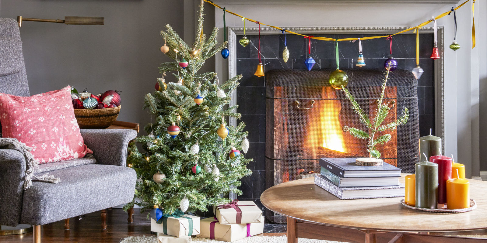This festive home redefines cozy chic how to decorate