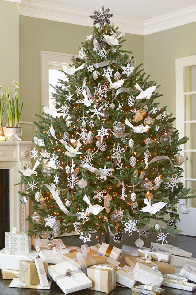 25 Decorated Christmas Tree Ideas - Pictures of Christmas Tree ...