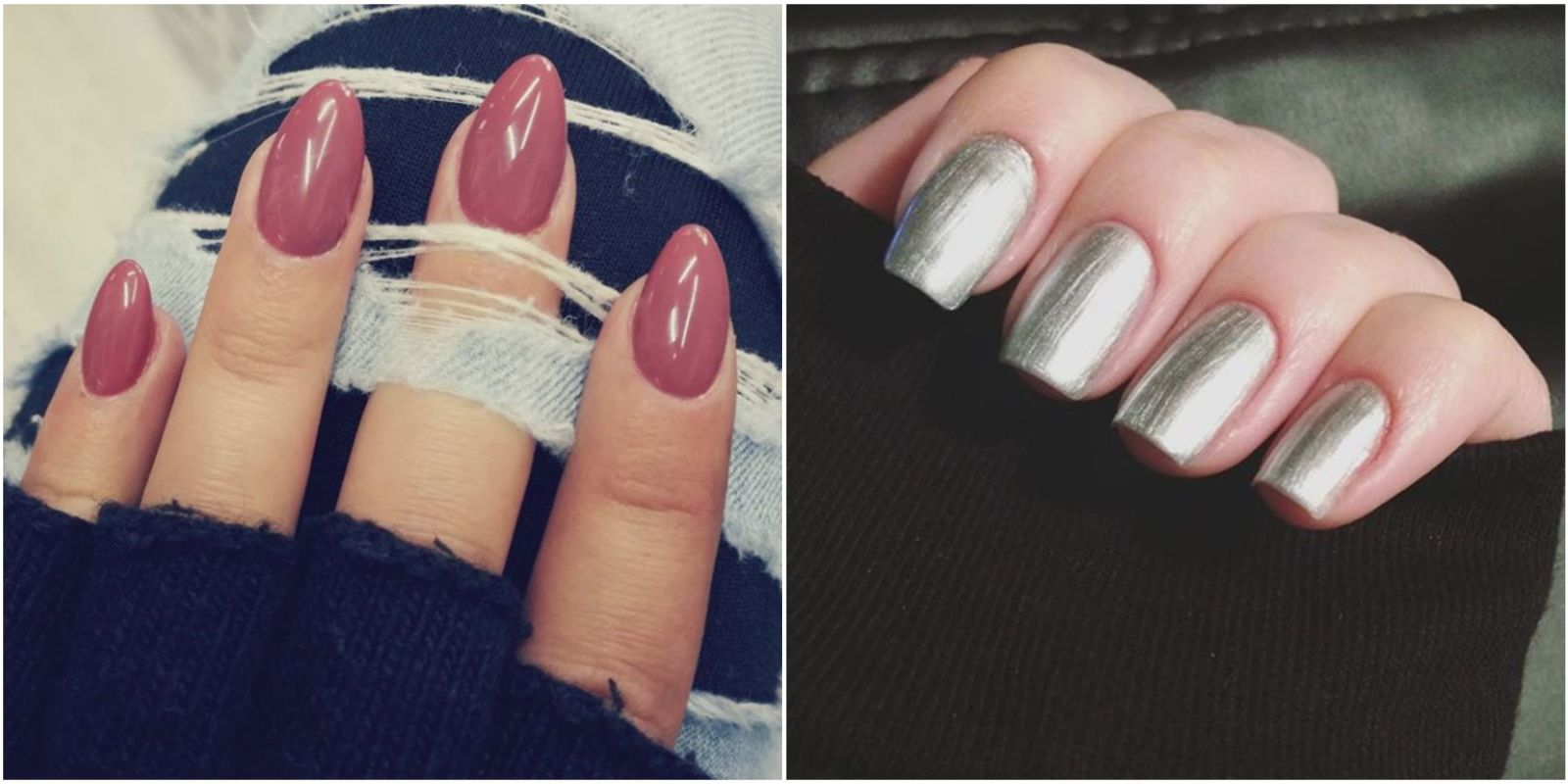 9 Different Nail Shapes And Names For Your Manicure