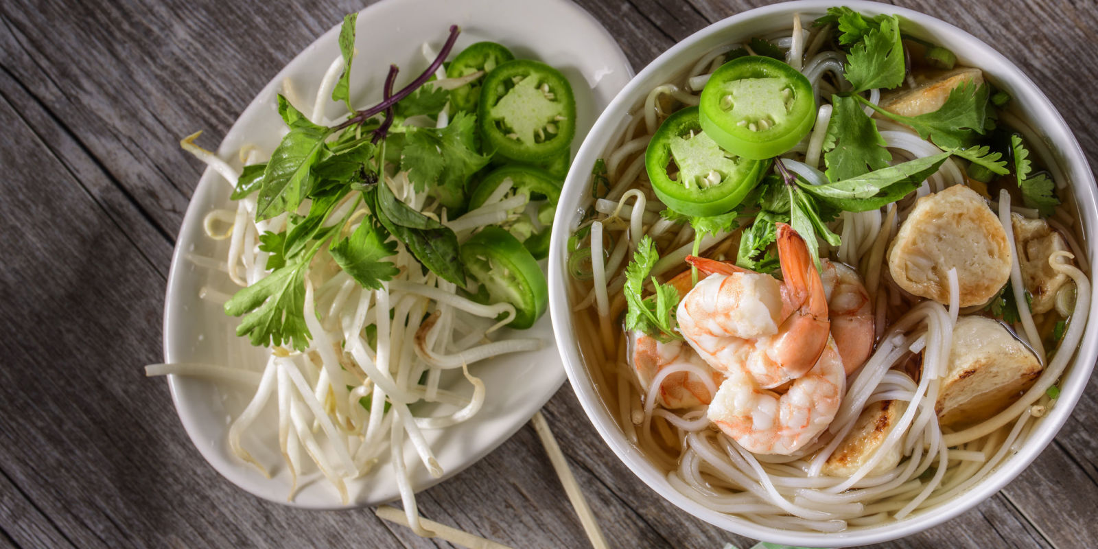 how to eat pho soup