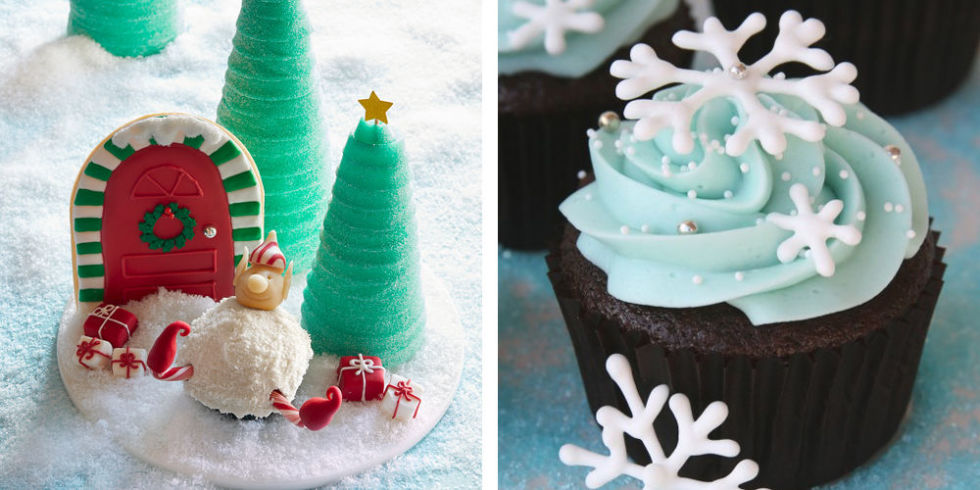 28 Adorable Cupcakes to Bake for Christmas - Recipes for Christmas ...