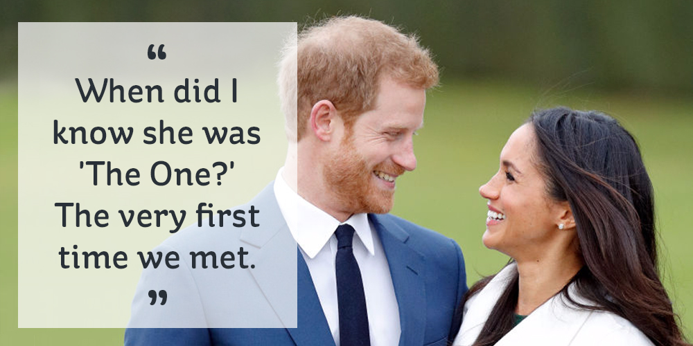 Prince Harry's Most Romantic Remarks About His Fiancé ...