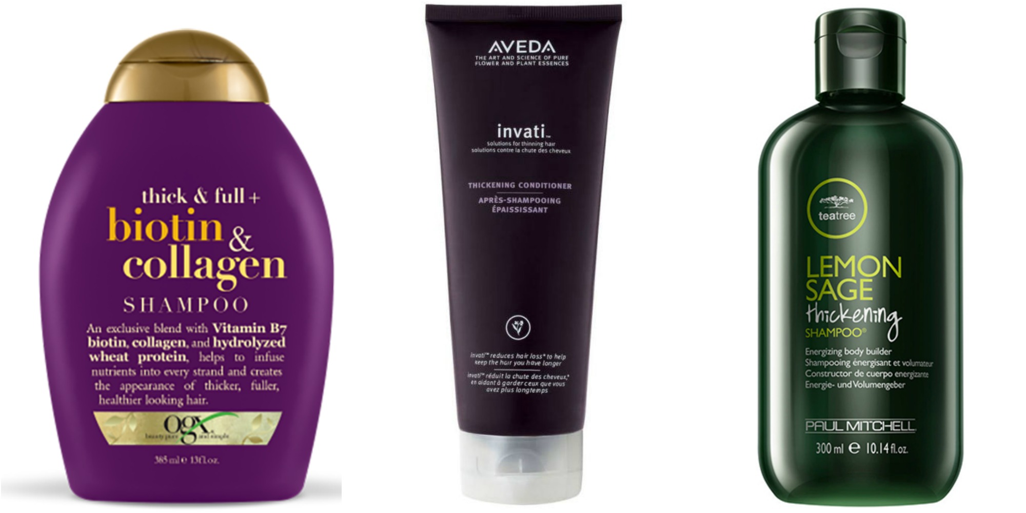 25+ Best Hair Thickening Shampoos And Conditioners
