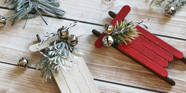 52 Homemade Christmas Ornaments Diy Handmade Holiday