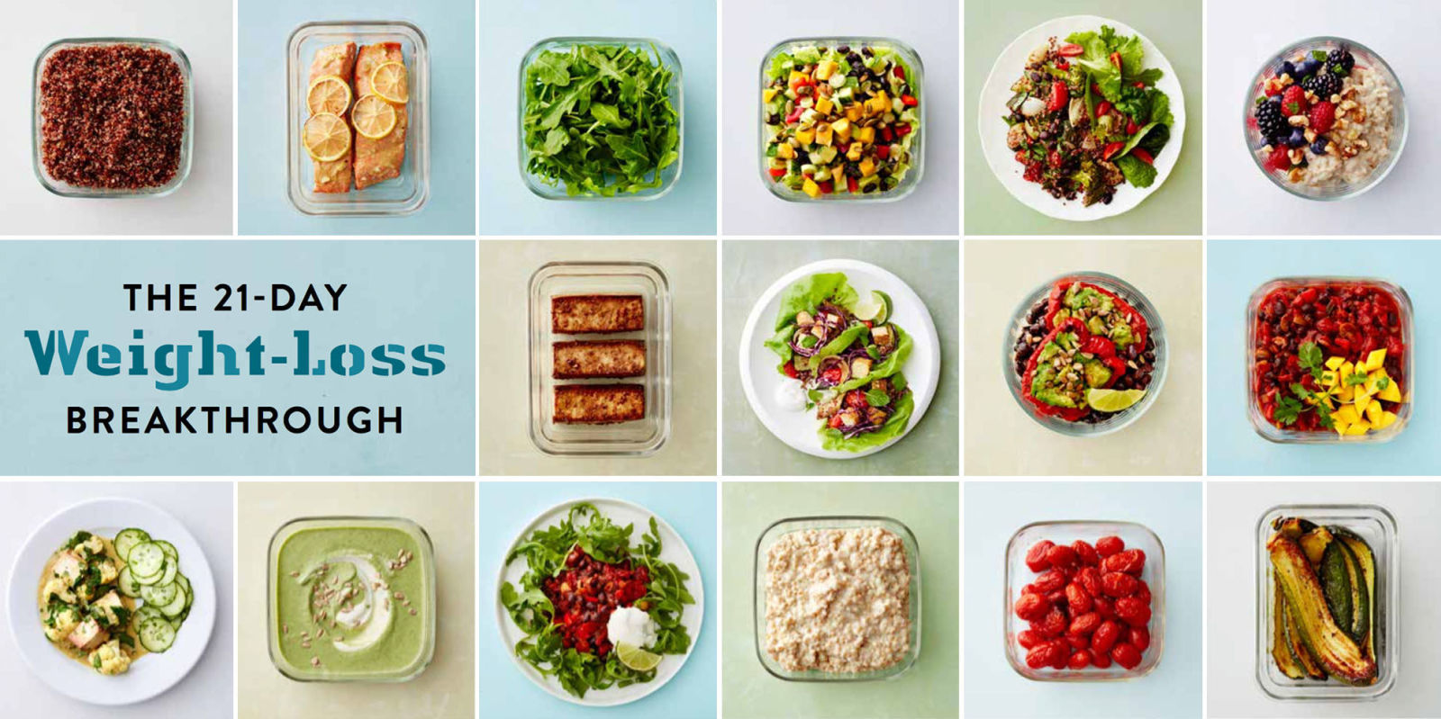 The 21-Day Weight-Loss Breakthrough - Dr. Oz's Meal Prep ...