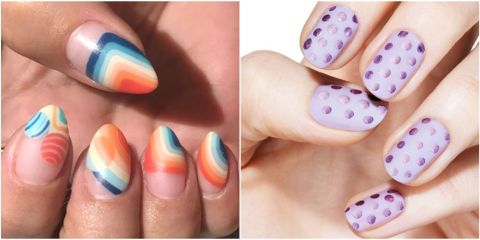 100 nail designs nail art ideas and care tips prinsesfo Image collections
