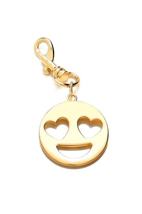 35 best gifts under 20 cool gift ideas under 20 dollars heart eyes emoji metal bag charm negle Gallery