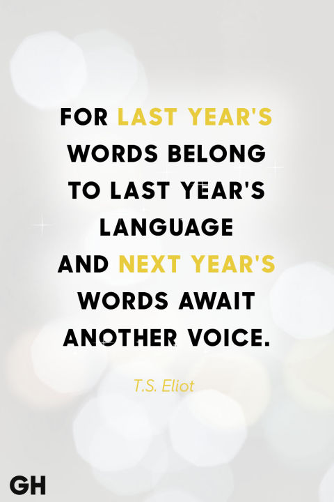Quotes New Year Cool 30 Best New Year's Eve Quotes  Inspirational Sayings For The New Year