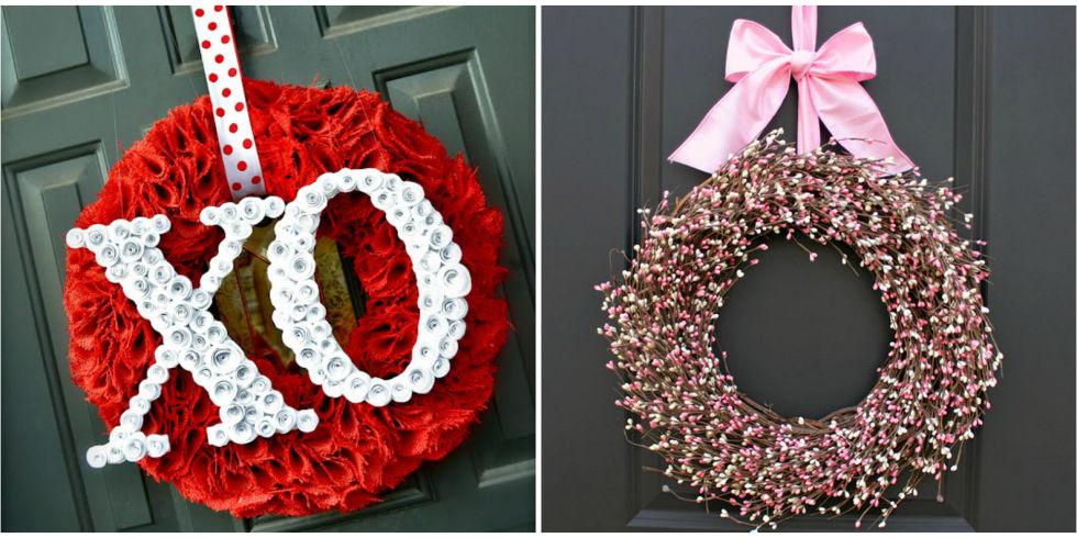 Valentineu0027s Day Wreaths
