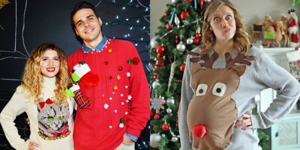 17 ugly christmas sweaters to buy or diy view gallery solutioingenieria Image collections