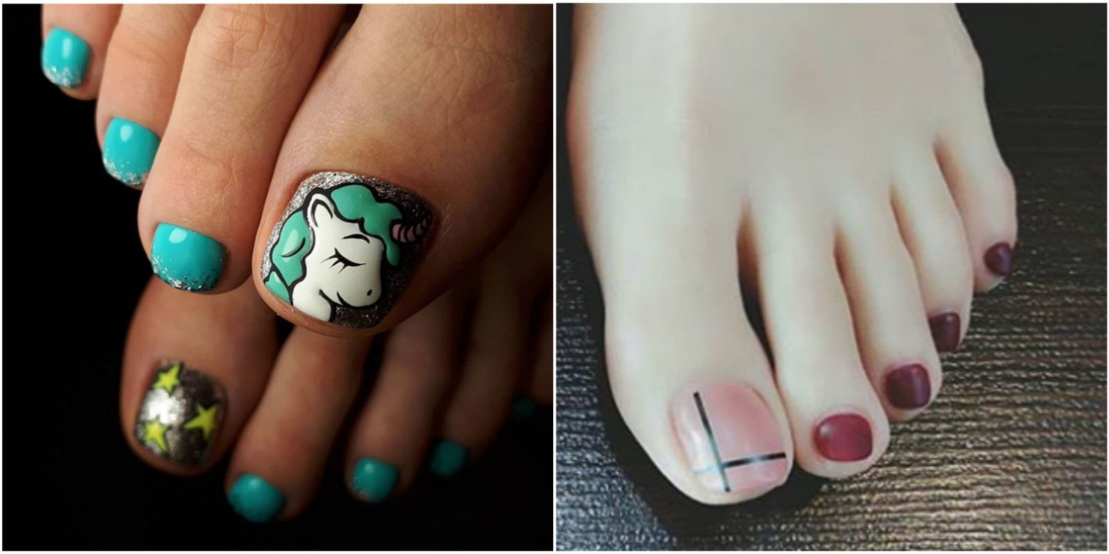 12 cute toe nail art designs 2018 best toenail polish ideas prinsesfo Images