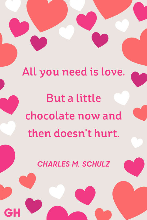 Lovely Charles M. Schulz Valentineu0027s Day Quote