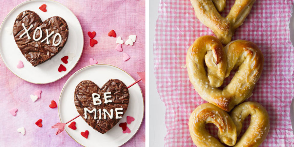 18 Cute Heart-Shaped Foods - Valentine\'s Day Heart-Shaped Recipes