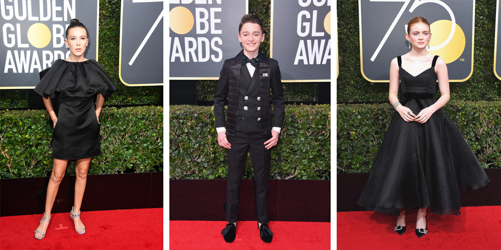 The Cutest Kids On Golden Globes Red Carpet At
