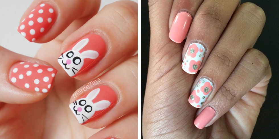 view gallery - 24 Cute Easter Nail Designs - Easy Easter Nail Art Ideas