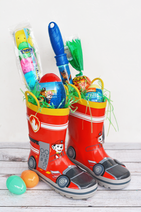 40 diy easter basket ideas unique homemade easter baskets good rain boot easter basket negle
