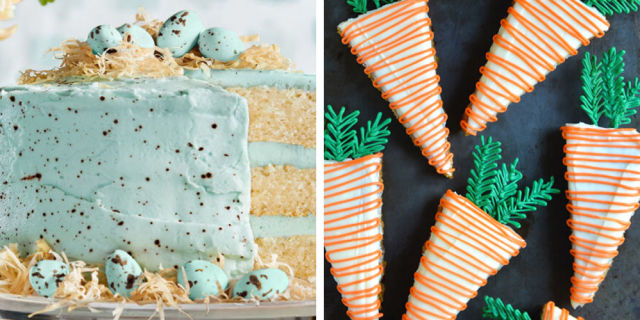 Green bee easter food ideas – Christmas card and gift 2018